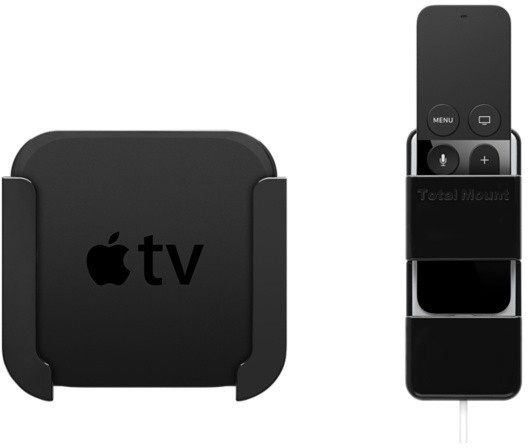 Mounting System for New Apple TV and Remote Launching in Apple Stores