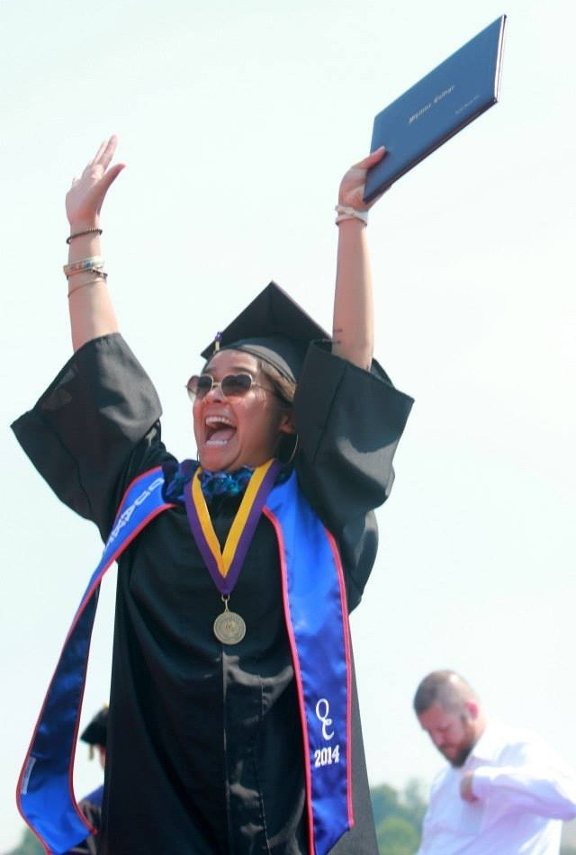 My grad! So proud of her:)