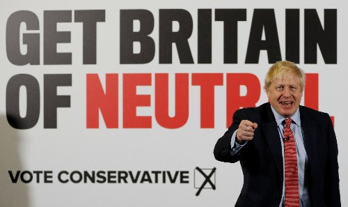 Another day, another crisis: PM Johnson mounts defensive UK election campaign