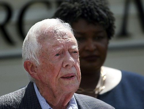 Jimmy Carter's new milestone: Longest-lived US president
