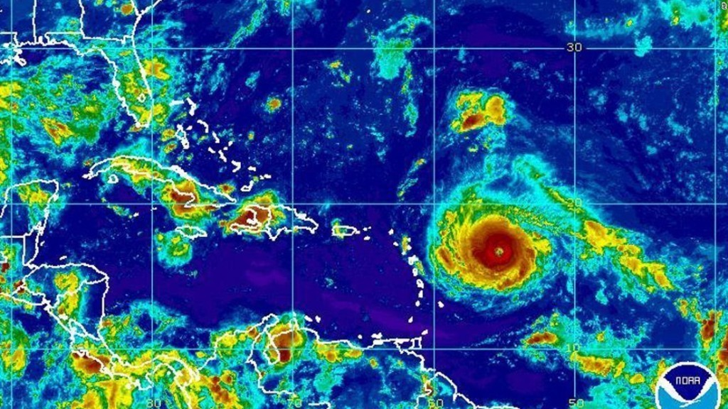 Hurricane Irma strengthens to Category 5: Puerto Rico, Florida brace