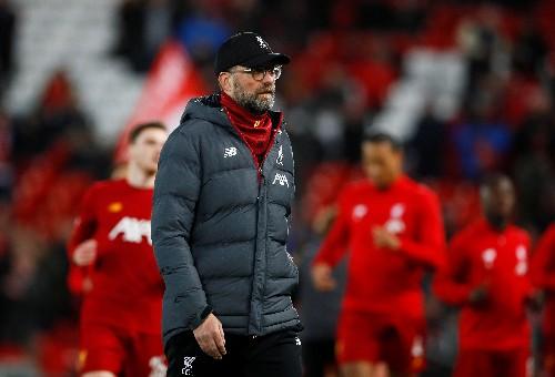 Liverpool's record-equalling run 'incredible,' says Klopp