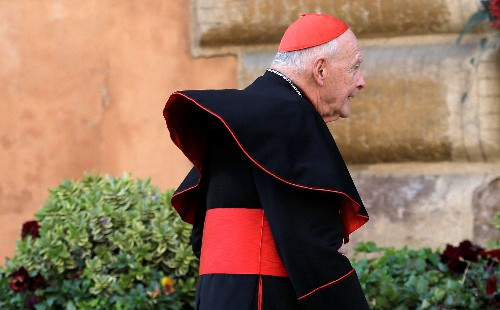 Disgraced U.S. ex-cardinal could be defrocked soon: Vatican sources