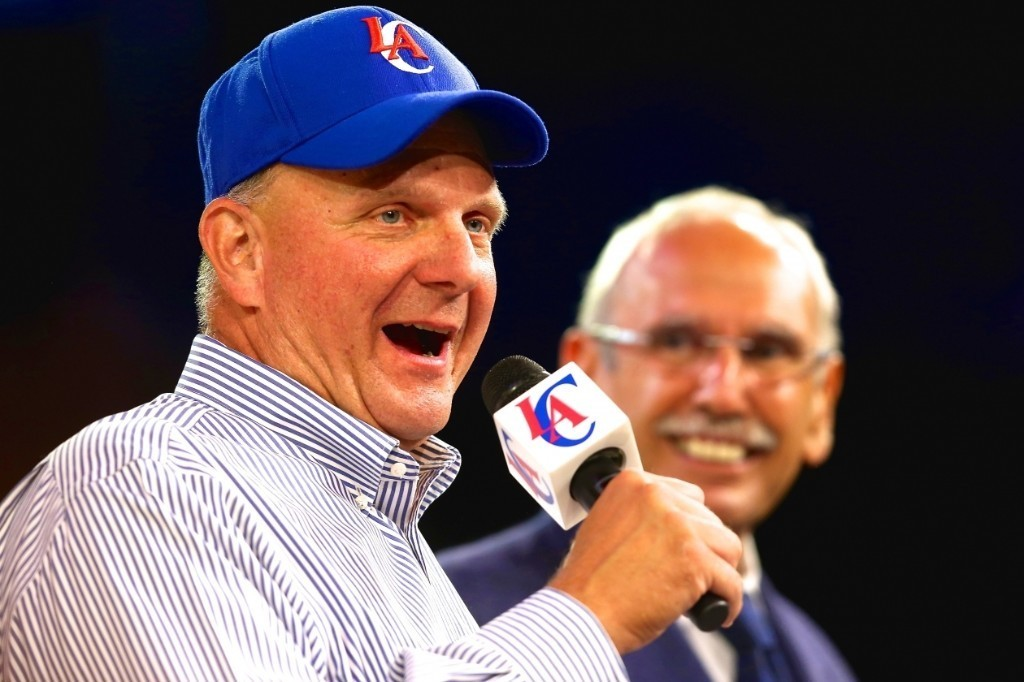 Steve Ballmer, Clippers Start Washing Away Stain of Donald Sterling Era