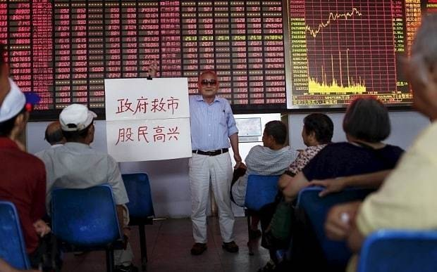 Chinese markets lead global dip in stocks