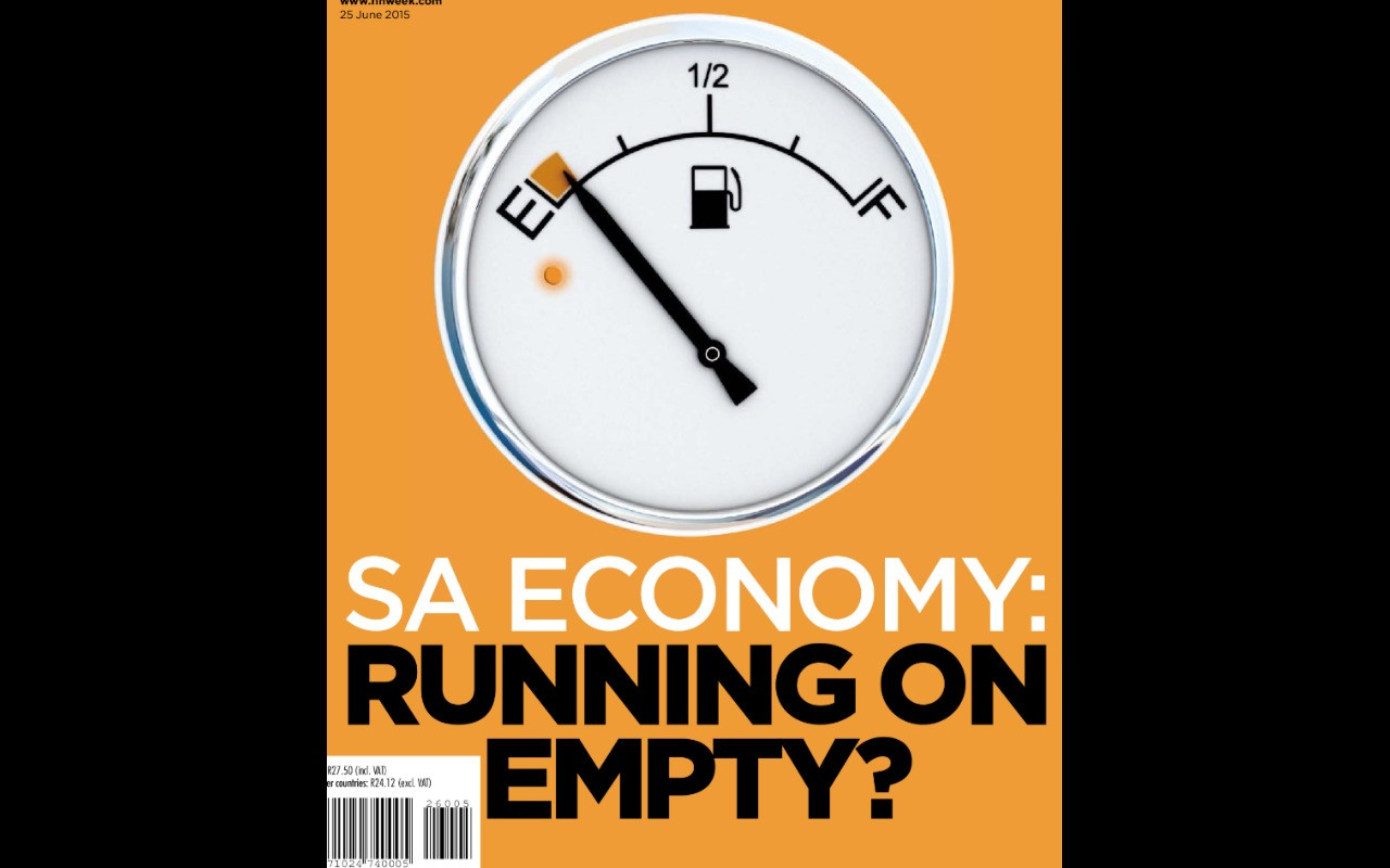 The South African Finance & Economic Magazine cover image