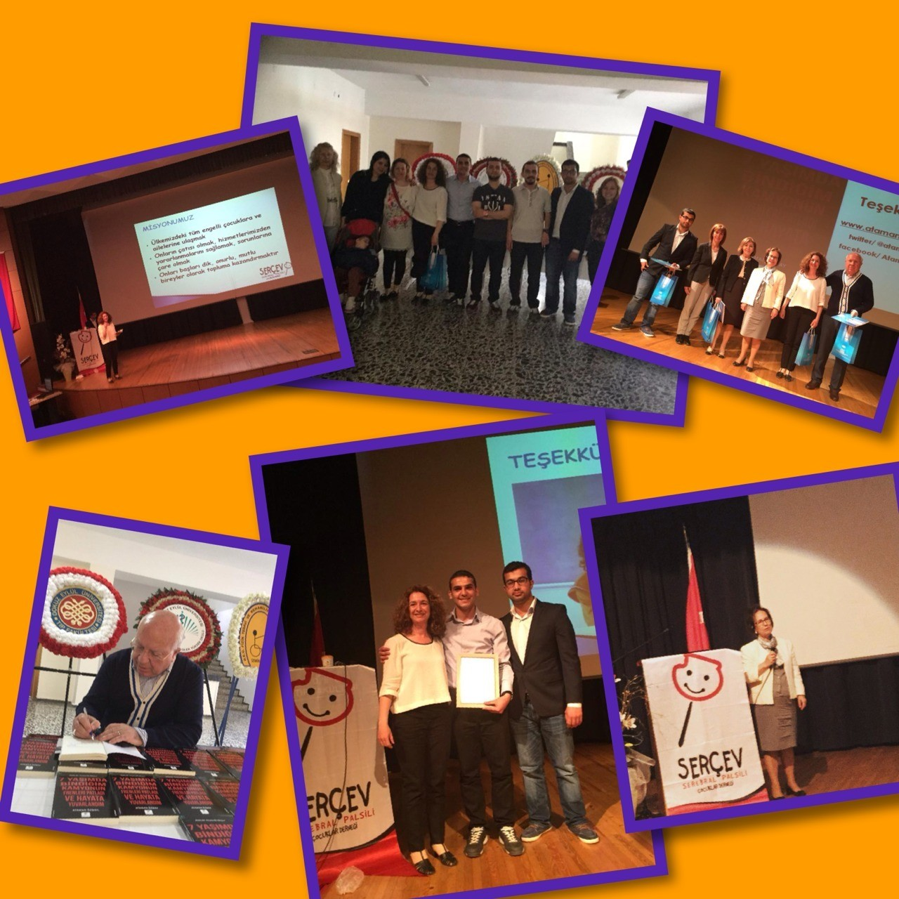 SERÇEV İZMİR'DE Dokuz Eylül Üniversitesinin daveti üzerine serebral palsi farkındalığı için serçev Izmir'deydi...