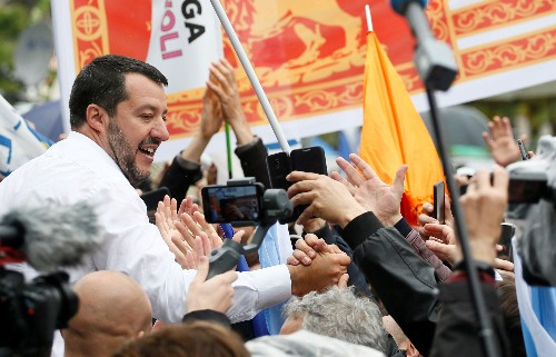 Italy's Salvini says government will not collapse after EU vote: paper