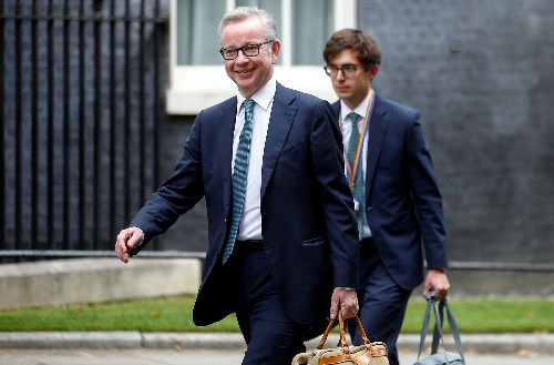 UK's Gove says government will 'look at' any no-deal Brexit legislation