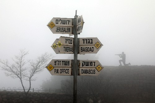 Gulf Arabs, Iran reject U.S. recognition of Golan Heights as Israeli