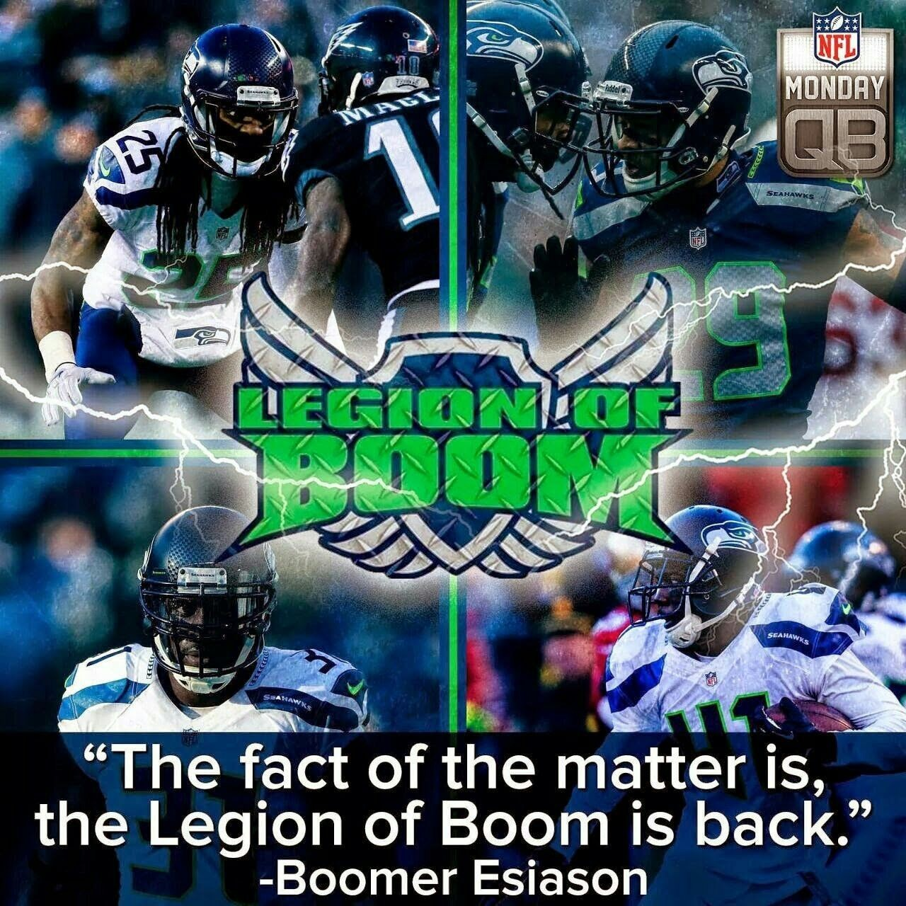 SEATTLE SEAHAWKS. . SUPERBOWWL CHAMPS AGAIN