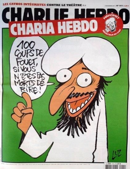 12 Most Shocking Charlie Hebdo Covers