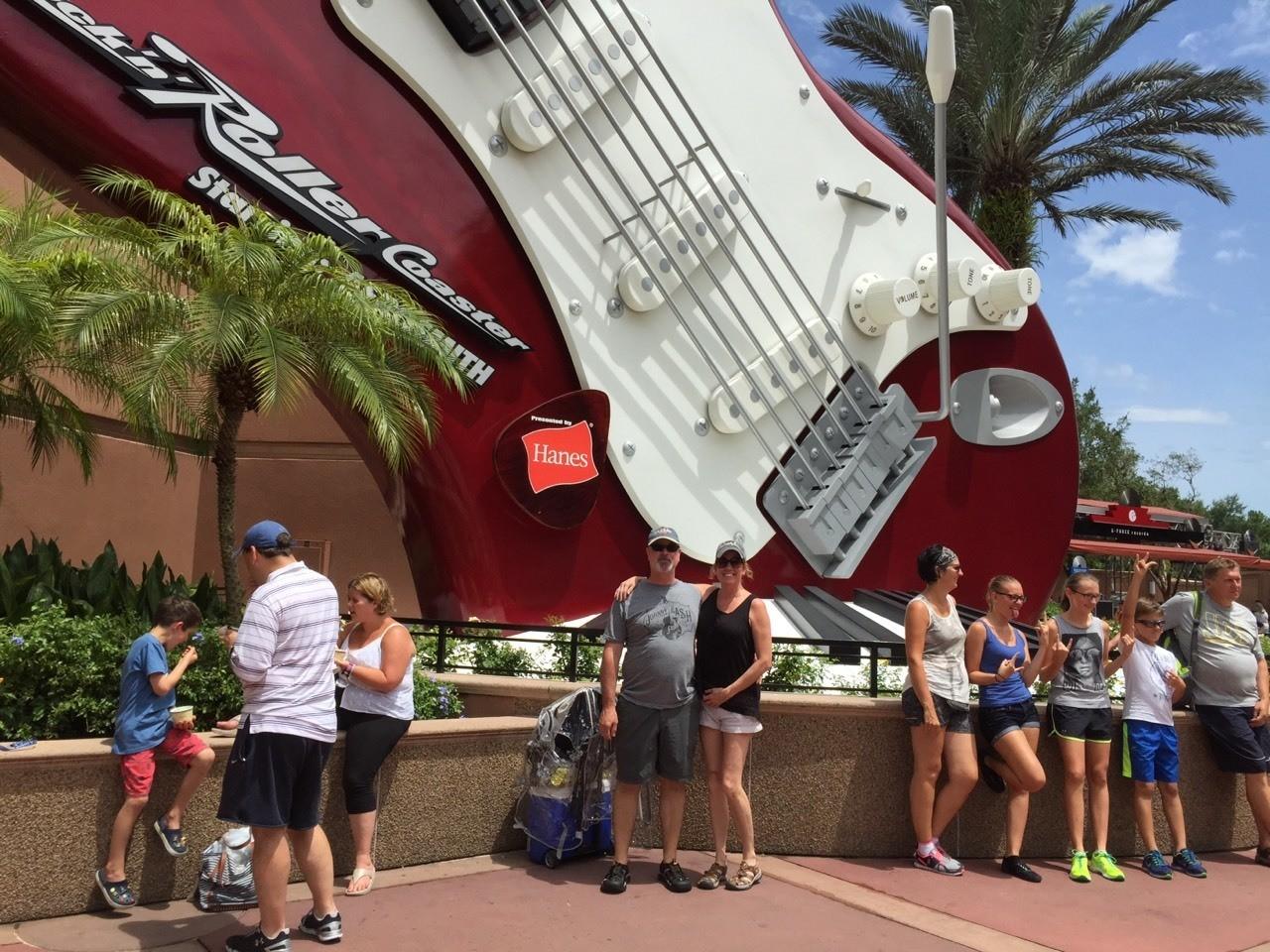 Disney Hollywood Studios - Aerosmith Rock-n-Rollercoaster