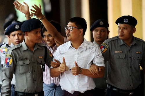 U.S. House calls on Myanmar to release Reuters journalists