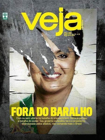 Brasil Falido - Magazine cover