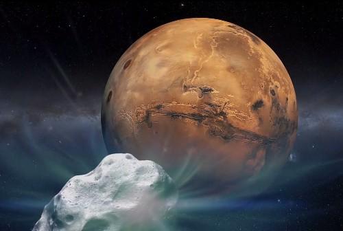 5 Sky Events This Week: Moon Buzzes Beehive, Comet Barnstorms Mars