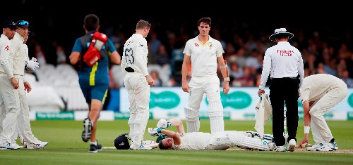 Cricket: Australia's Smith ruled out of rest of test