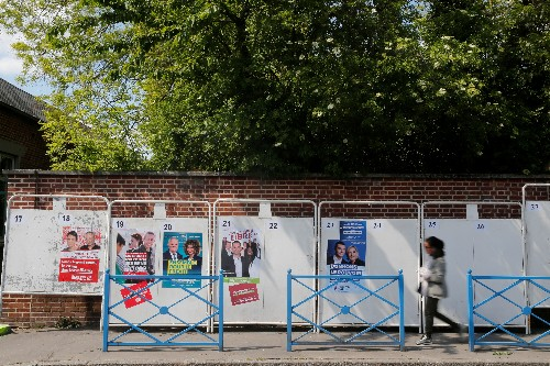In hometown, Macron battles disillusion and apathy ahead of EU election