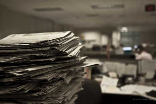A Mental-Health Epidemic In The Newsroom