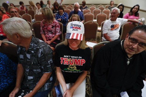 Woman to woman: Female Trump backers try to sell his message