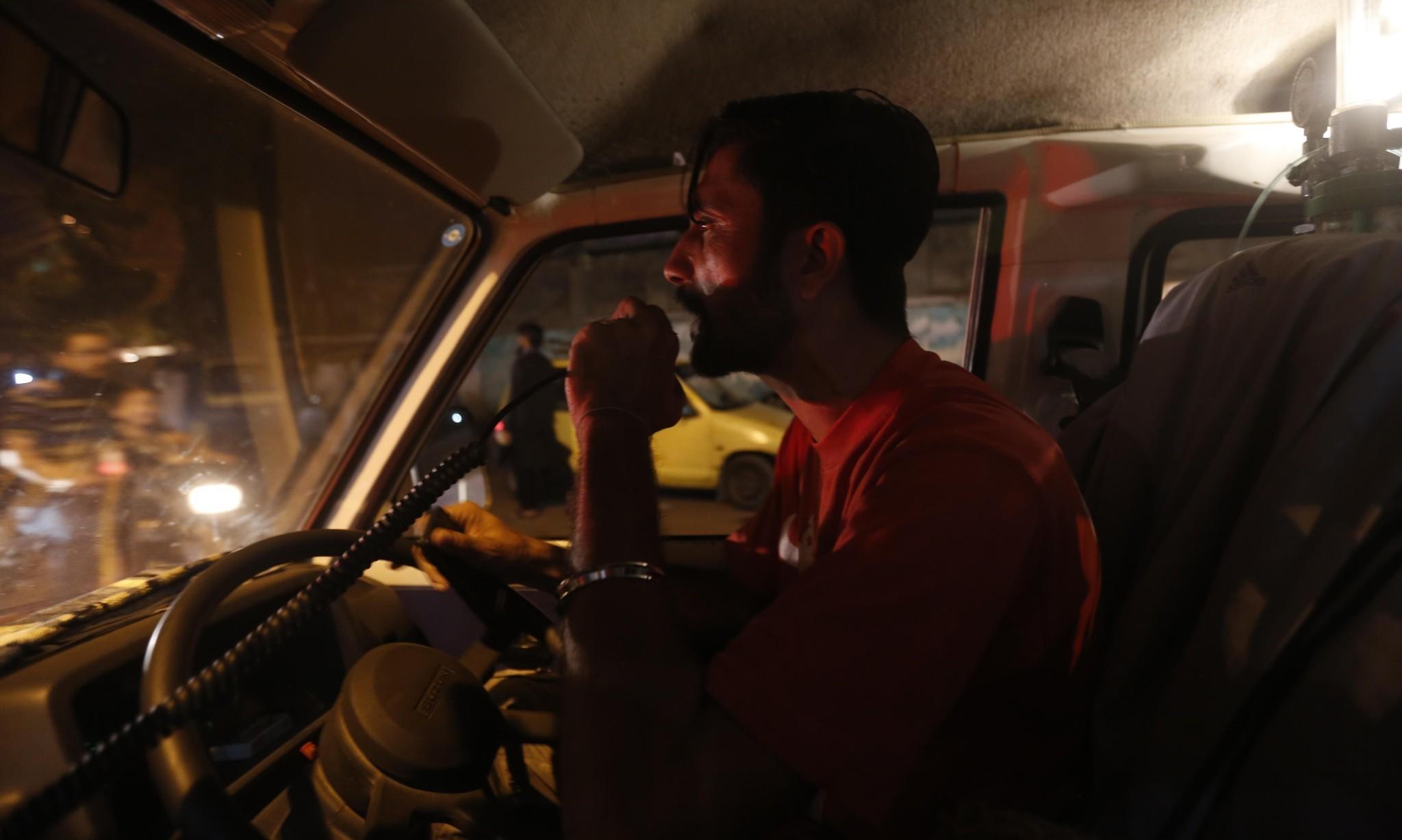 On the frontline with Karachi's ambulance drivers