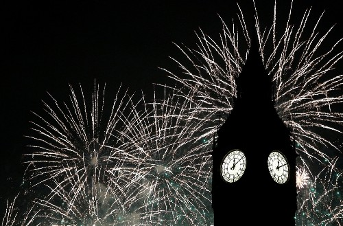 New Year's Eve Around the World: Pictures