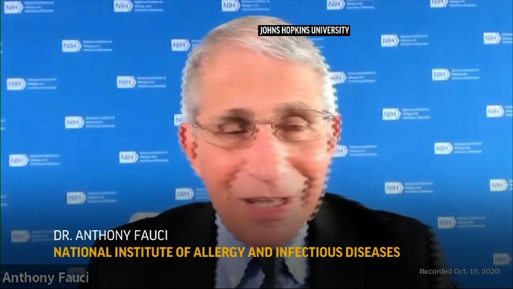 Fauci: Infection baseline going in wrong direction