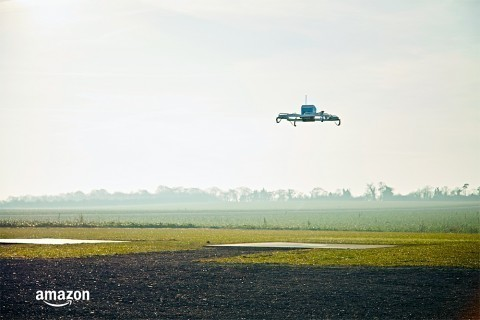 Amazon makes its first drone delivery to a real customer