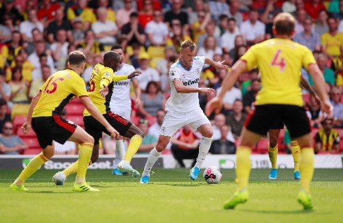 Haller double gives Hammers 3-1 win over Watford