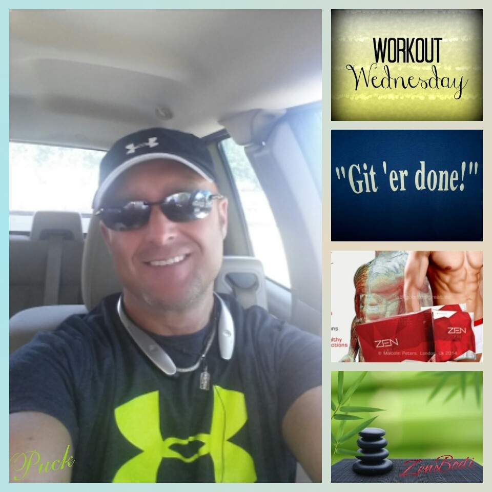 git ' er done with your Wednesday workout!