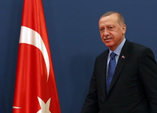 Erdogan attends launch of Serbia-Bosnia highway work
