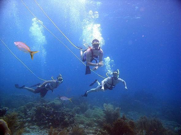 A Mermaid's World: The Beauty of Snuba