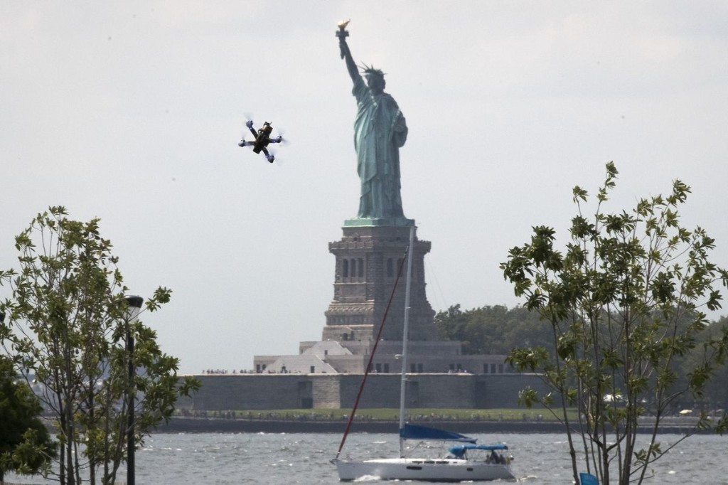 Why people get arrested for flying drones