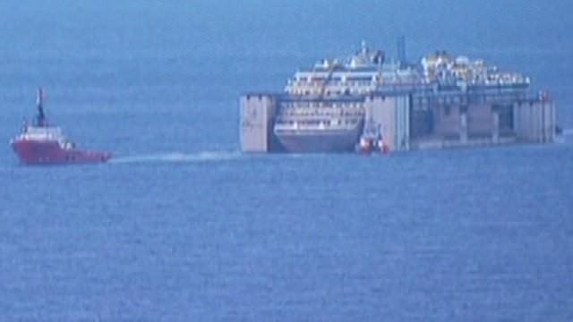 Costa Concordia reaches end of final voyage