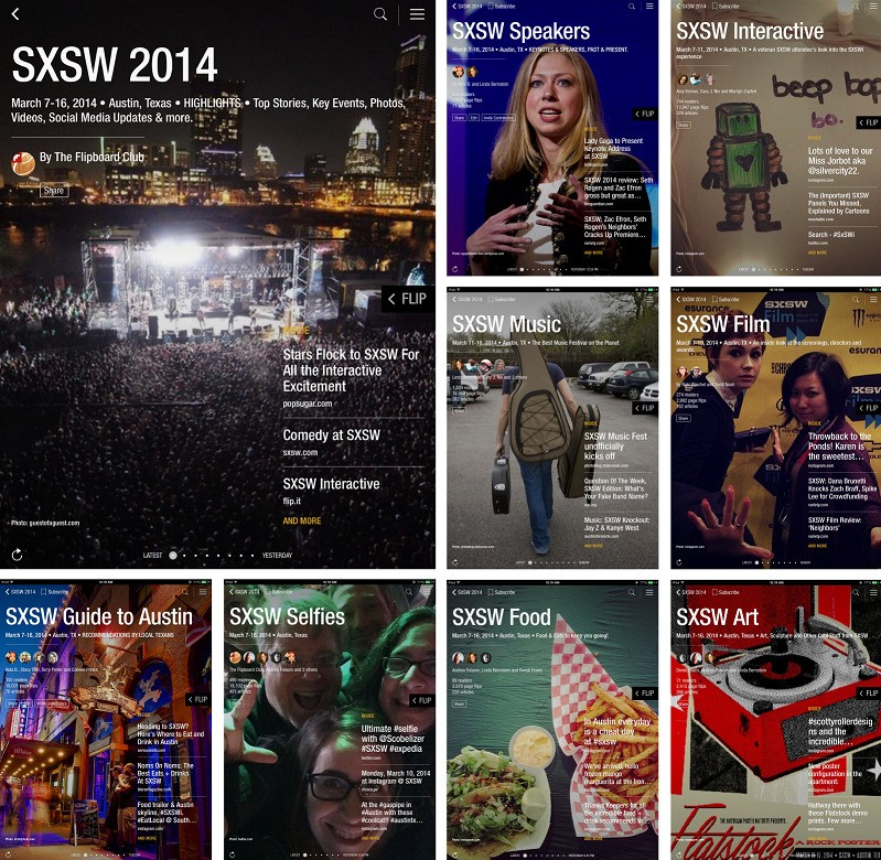 Enjoy SXSW 2014, in Austin or Elsewhere, with These Flipboard Magazines