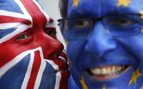 The Latest: Dutch PM: Britain could walk out without deal