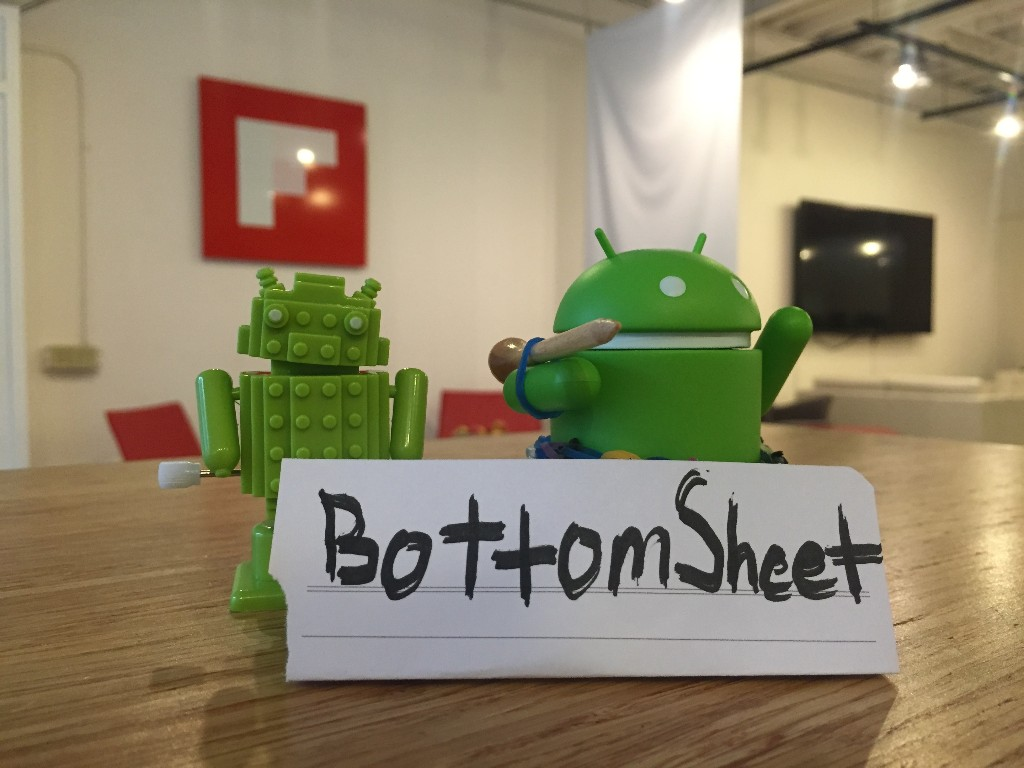 Presenting BottomSheet