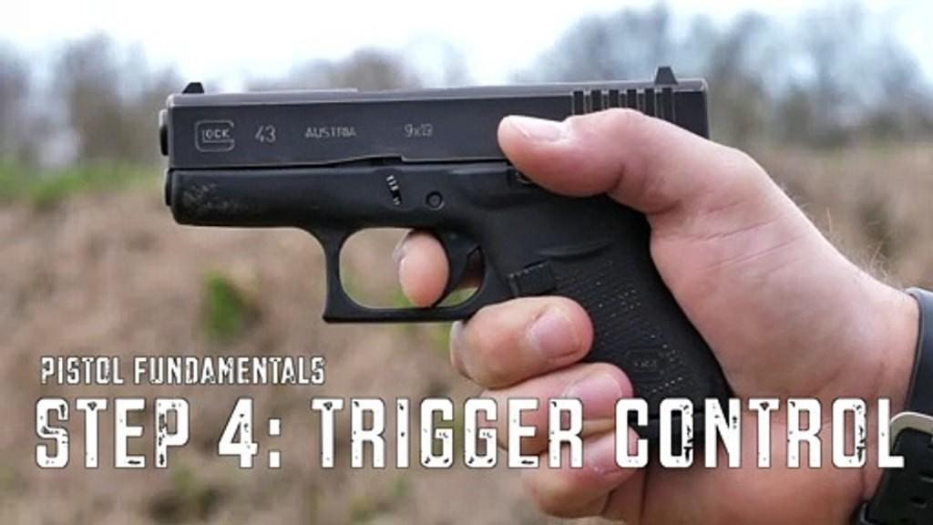 Handgun Fundamentals: Trigger Control