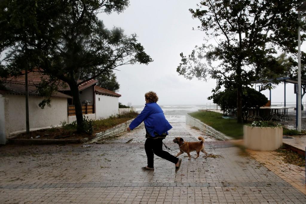 Rare Mediterranean storm batters western Greece, Ionian islands