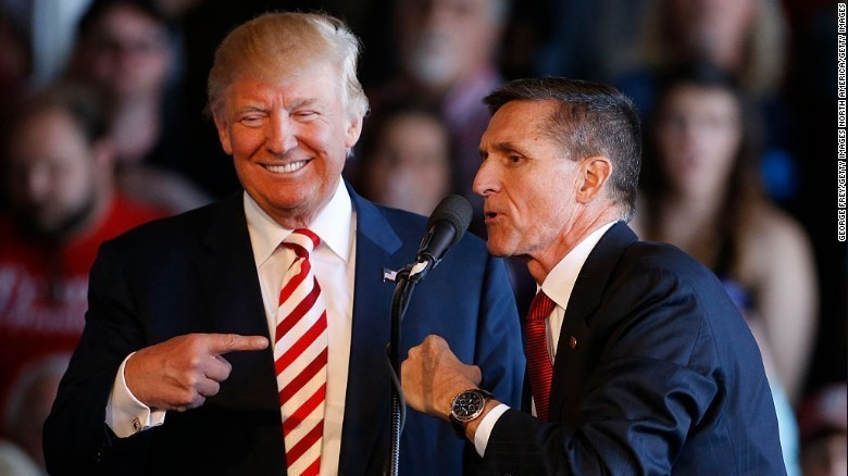 Trump's national security advisor has been in touch with Russian ambassador