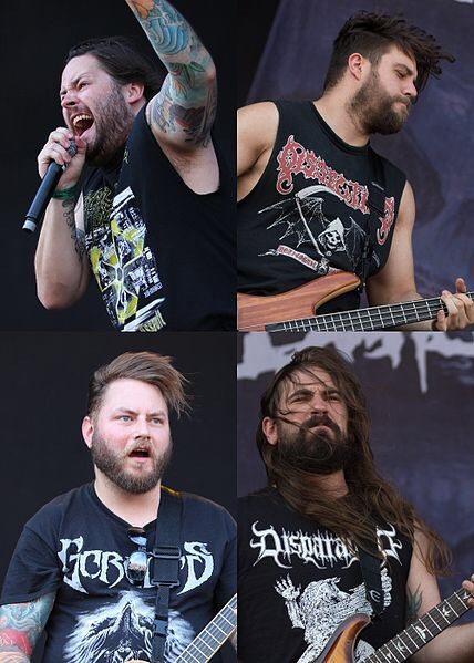 The Black Dahlia Murder is an American melodic death metal band from Waterford, Michigan, formed in 2001. Their name is derived from the 1947 unsolved murder of Elizabeth Short, often referred to as Black Dahlia. The band currently comprises rhythm guitarist Brian Eschbach, lead vocalist Trevor Strnad, bassist Max Lavelle, drummer Alan Cassidy, and lead guitarist Brandon Ellis. Out of the seven studio albums they have released to date, the last six of them have charted on the U.S. Billboard 200, with their fifth album Ritual peaking at No. 31 in 2011, marking them as one of the most popular contemporary American extreme metal bands. Their seventh and latest album Abysmal was released on September 18, 2015.