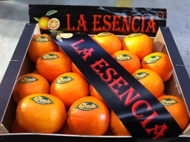 MARCA: LA ESENCIA VARIEDAD:NAVELINA ORIGEN:VALENCIA (ESPAÑA) WEB:www.citricosfrial.com