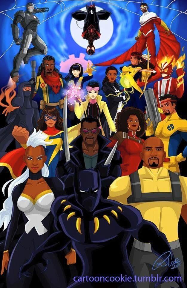 Marvel & DC Comics cover image