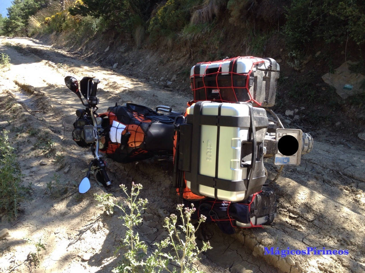 Transpirenaica Día 5 Última etapa de Broto a Hondarribia. bit.ly/2eE9oc5