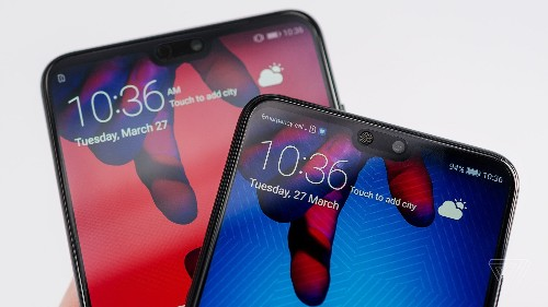 Huawei's P20 Pro has a unique triple camera and a predictable notch