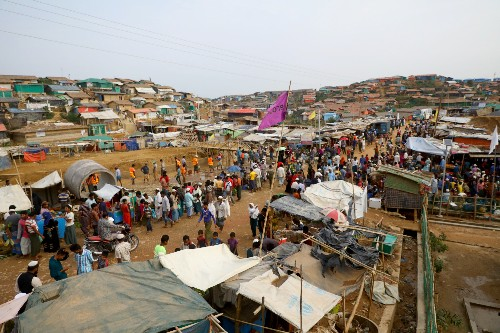 Rohingya militants condemn violence in refugee camps amid reports of killings