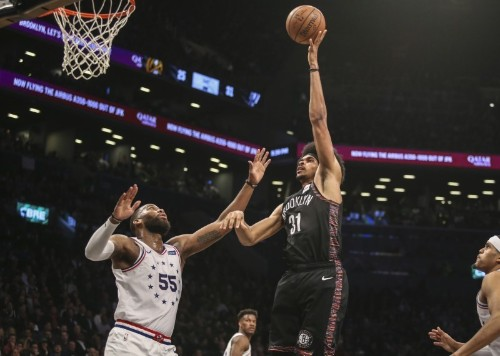 NBA roundup: Simmons shoots Sixers past Nets