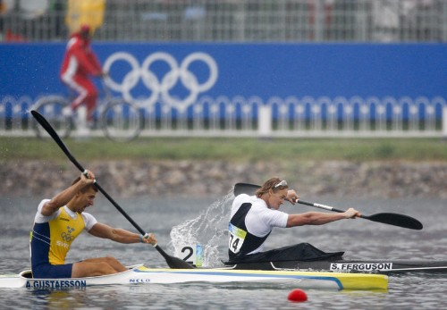 Former Olympic kayaker Ferguson to defend America's Cup