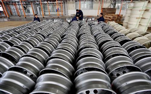 China dumped steel wheels on U.S. market: Commerce Department