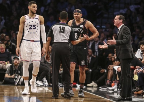 NBA notebook: Nets' GM suspended; NBA notes missed foul call